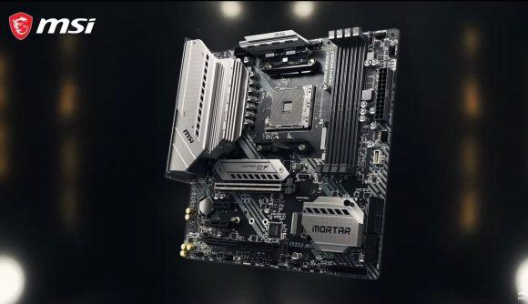 MSI AMD B550 motherboard