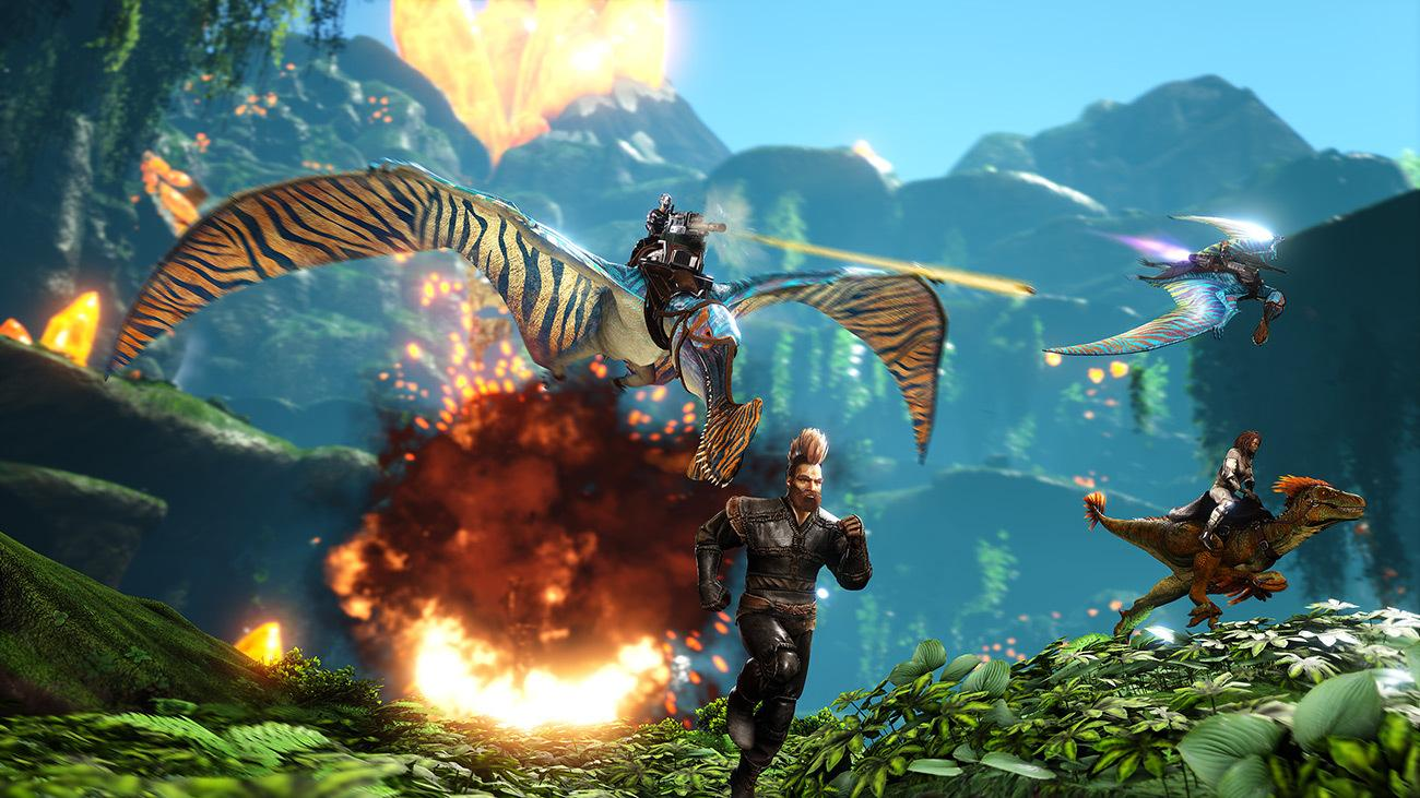 Ark: Survival Evolved is free on Epic for its fifth ...