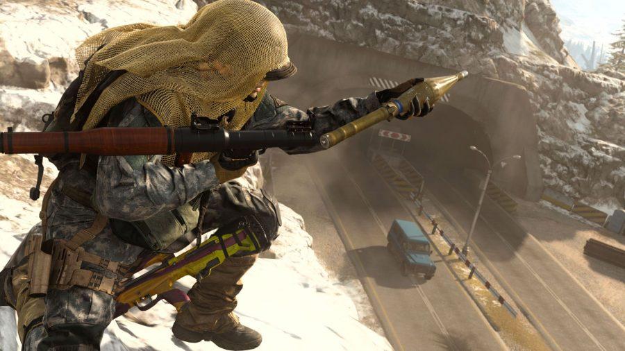 Warzone minigun