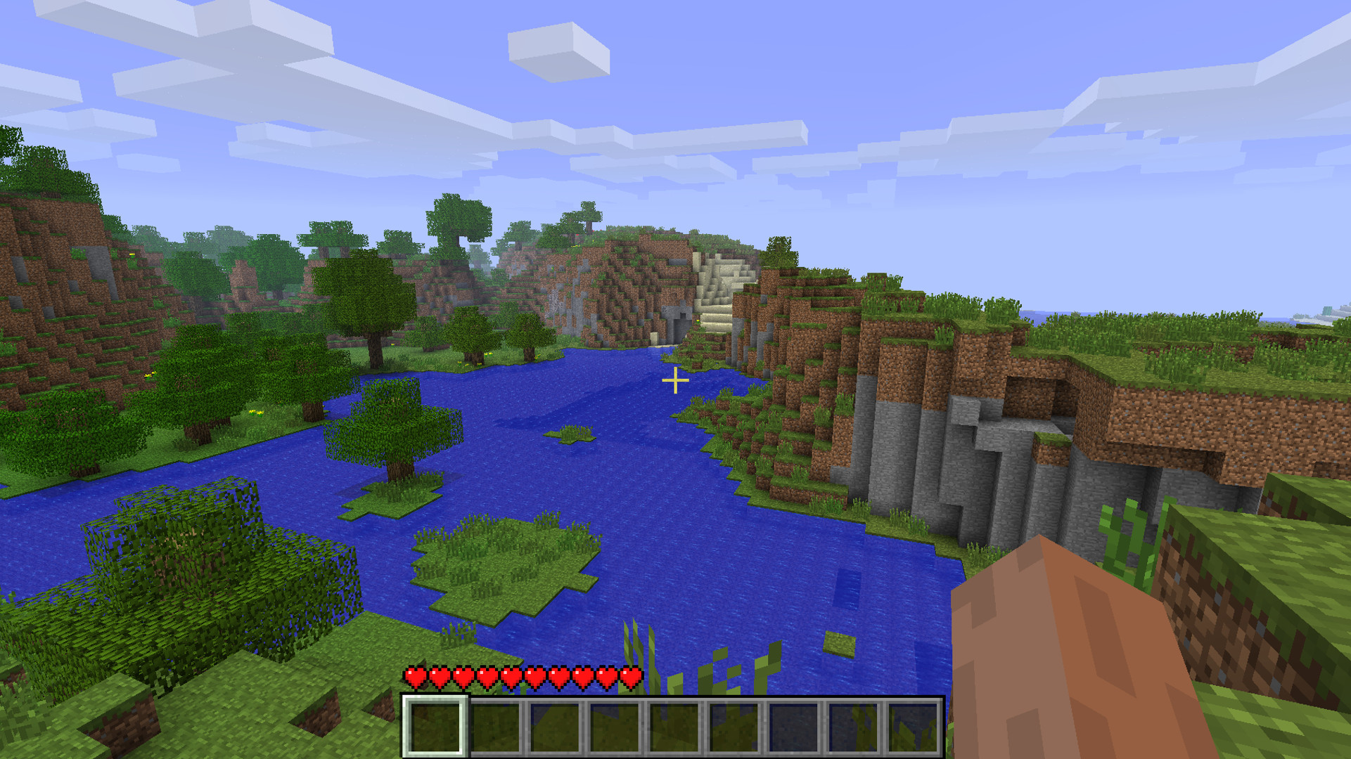 Minecraft title screen seed – You can now visit the panorama from