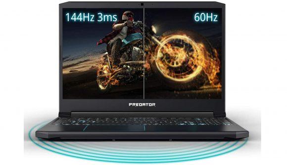 Acer Predator Helios 9750H 1660 Ti laptop 144Hz