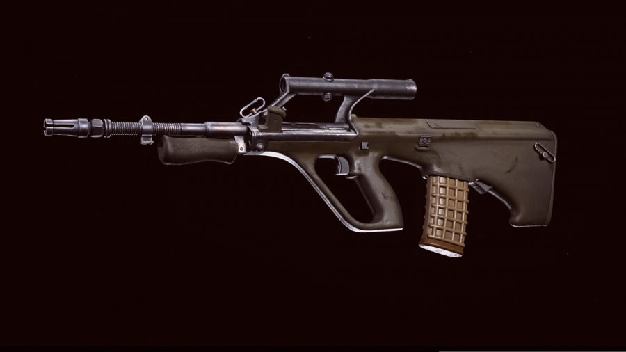 The AUG in Call of Duty: Warzone