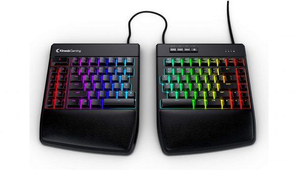 Kinesis Gaming Freestyle Edge Split keyboard for LAN