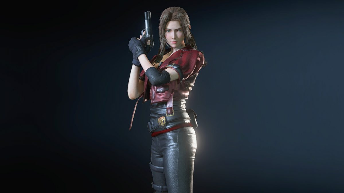 This Resident Evil 3 Mod Lets You Play As A Badass Aerith From Final Fantasy Vii Pcgamesn