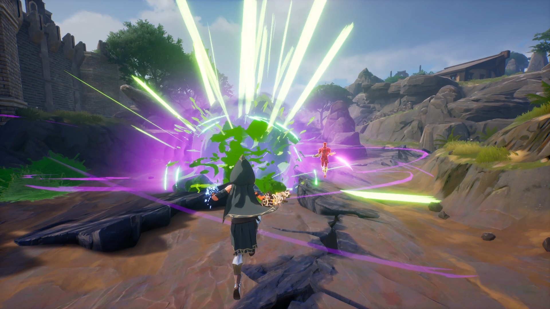Anime wizard battle royale Spellbreak will be free to play at launch | PCGamesN