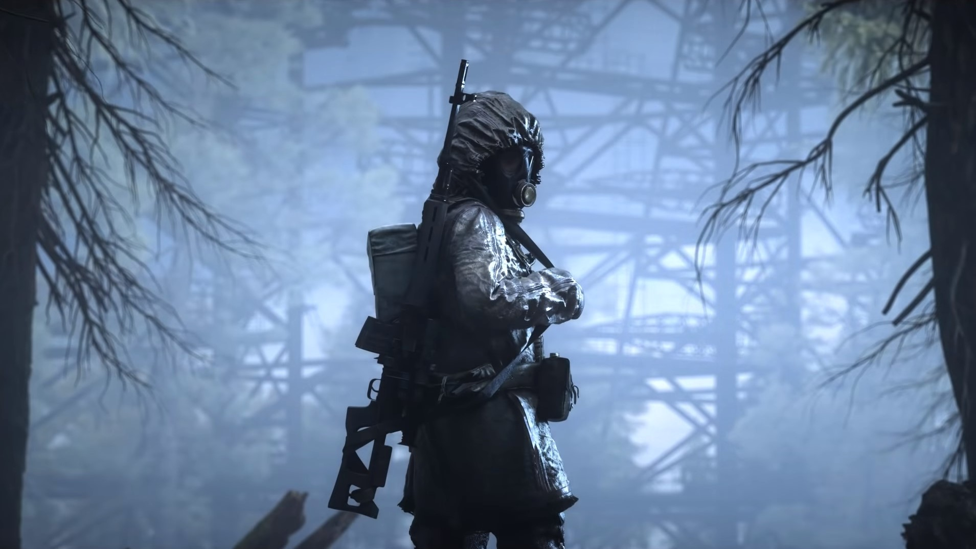 Someone is hiding in the STALKER 2 in-engine trailer