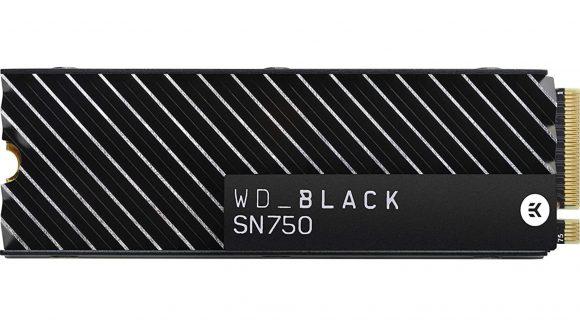 WD Black SN750 NVMe M.2 SSD