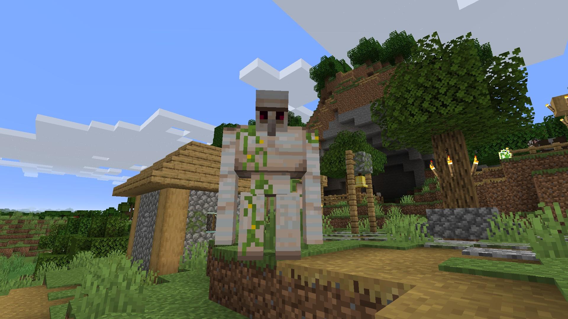 Minecraft Iron Golem farm guide