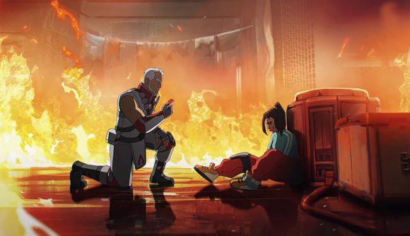 Apex Legends' Rampart and Kuben Blisk