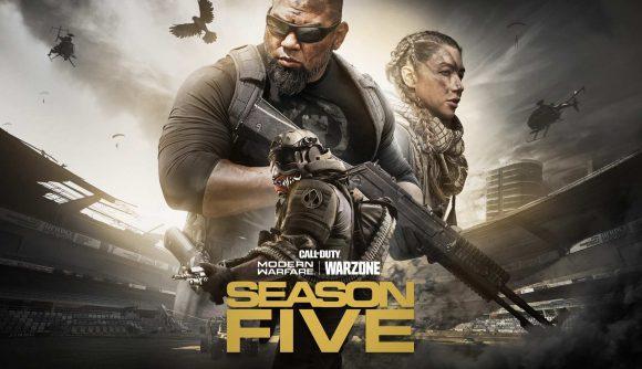 call of duty modern warfare and warzone season five