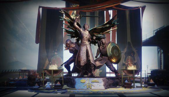Destiny 2's Solstice of Heroes statue