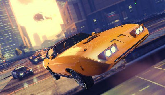 A race in GTA Online