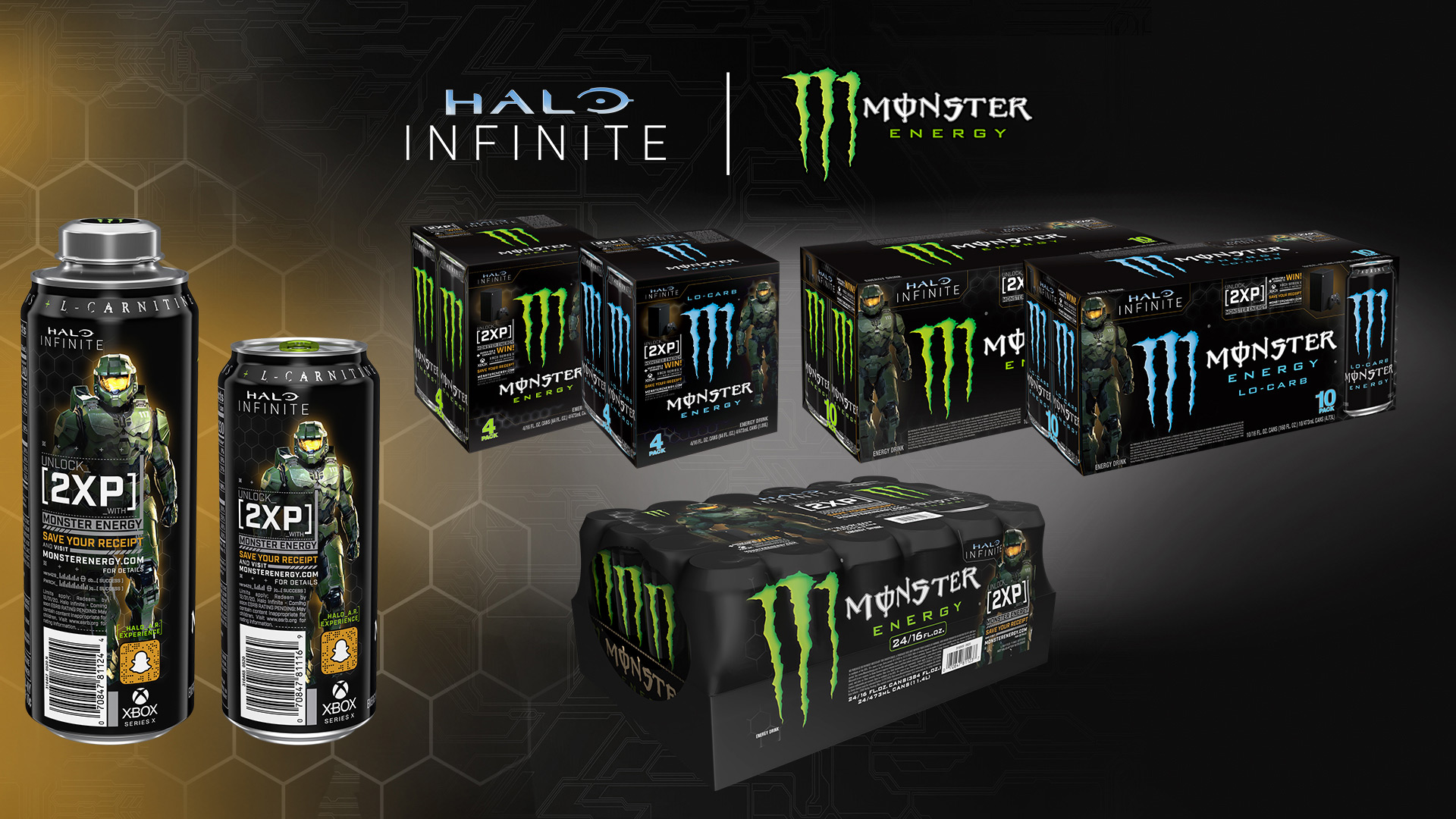 Halo Infinite might be delayed, but its Monster Energy XP boosts are not