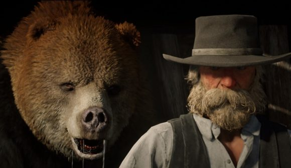 A bear from Red Dead Online The Naturalist update