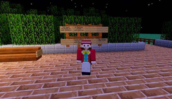 The major of Minecraft's Harvest Moon RP server