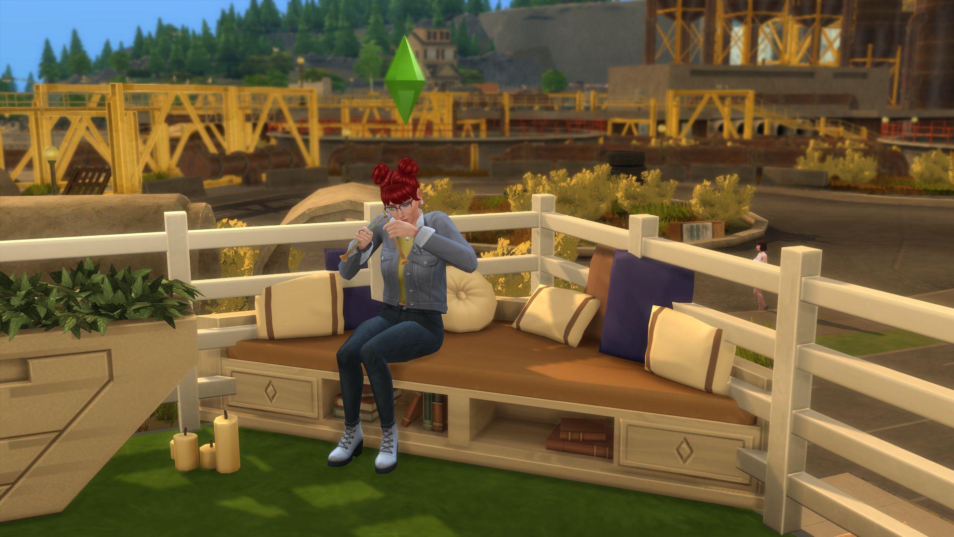 Crochet away: The Sims 4 Nifty Knitting feels a bit threadbare - PCGamesN