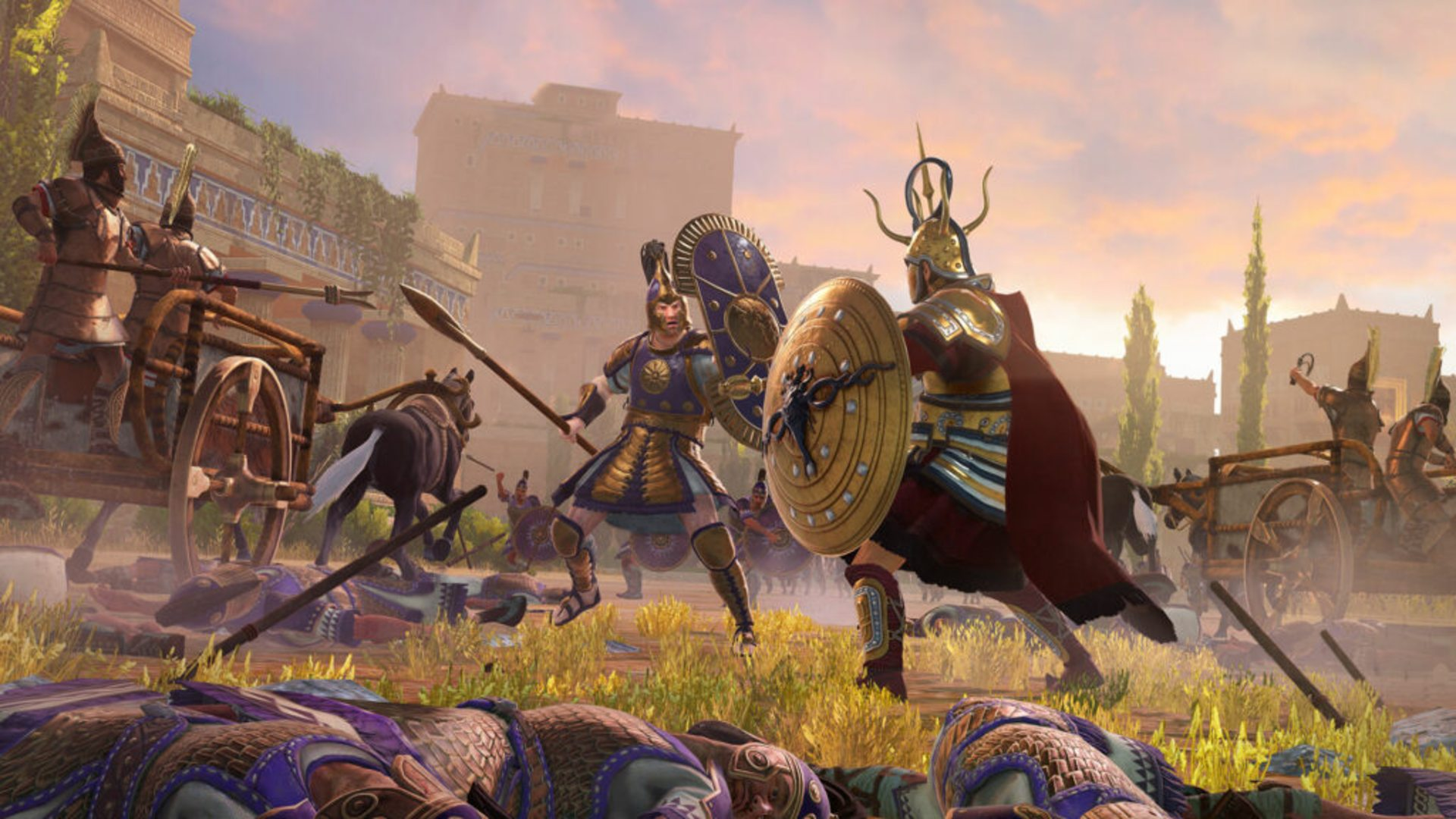 Total War Saga: Troy's multiplayer beta is getting quick battles and chat