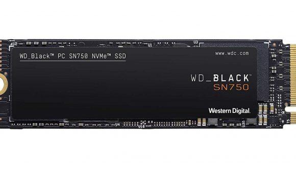Western Digital Black SN750 1TB SSD no heatsink