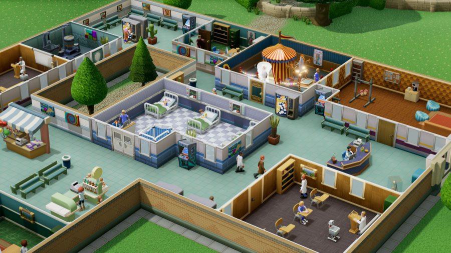 Amazon Luna games list Two Point Hospital