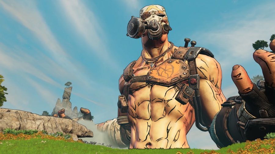 Borderlands 3's Krieg the Psycho
