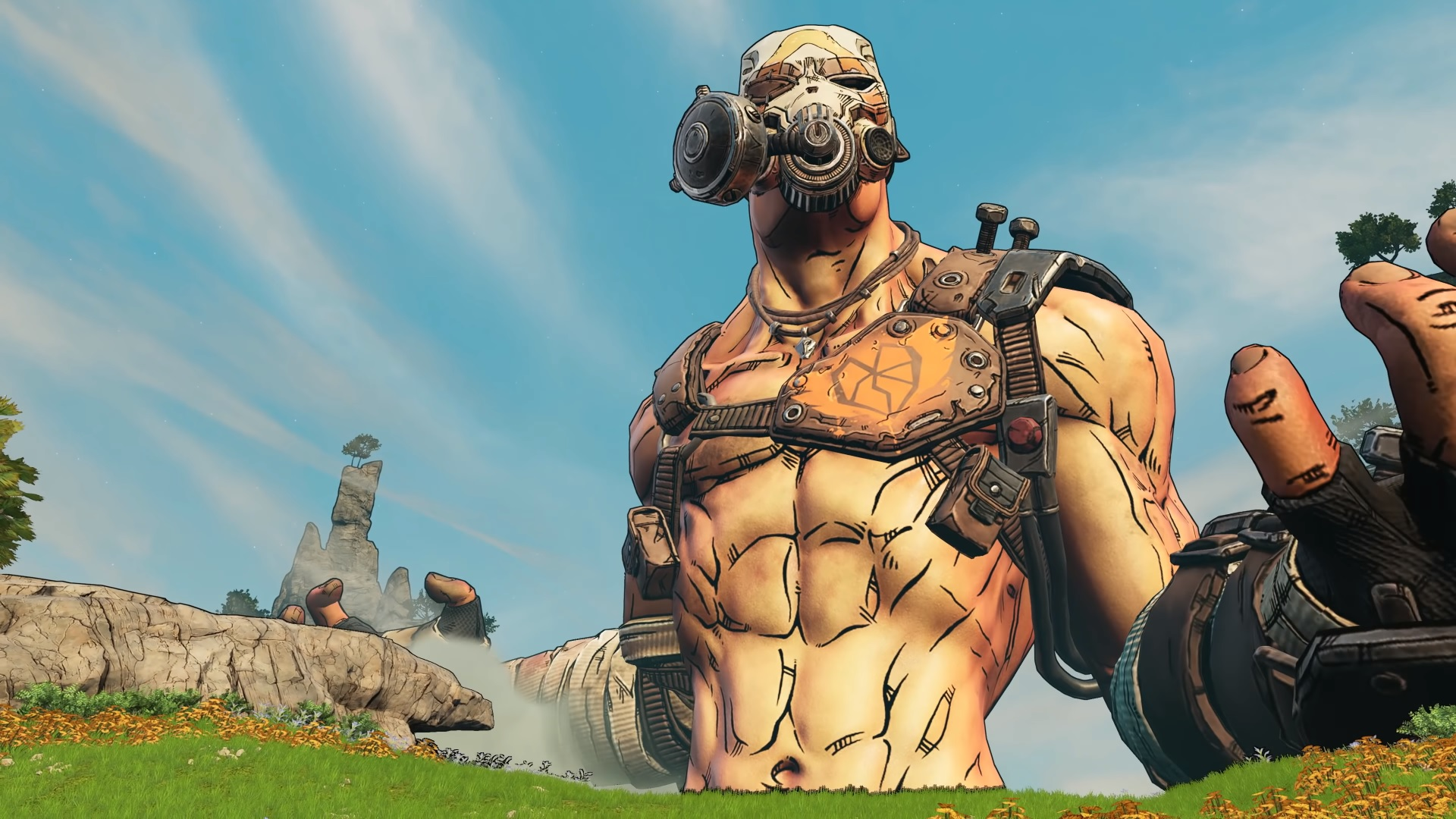Krieg's terrifying abs have been cast in the Borderlands movie
