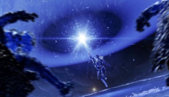 A Warlock using stasis abilities in Destiny 2 Beyond Light