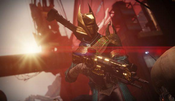 A Destiny 2 warlock in Trials of Osiris armor
