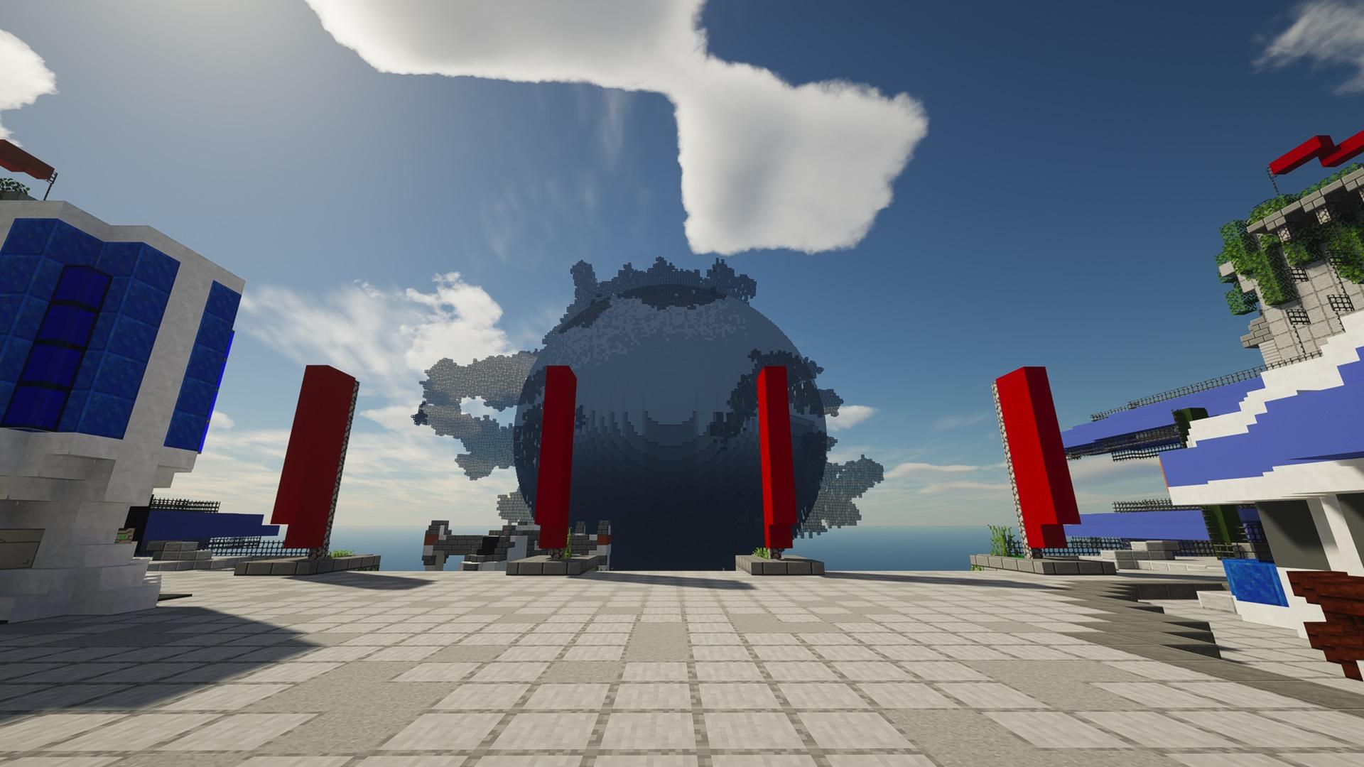 Minecraft players are recreating the original Destiny on PC