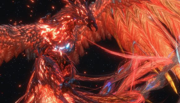 A phoenix from FF16