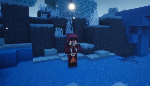 One of Minecraft's Iceologers