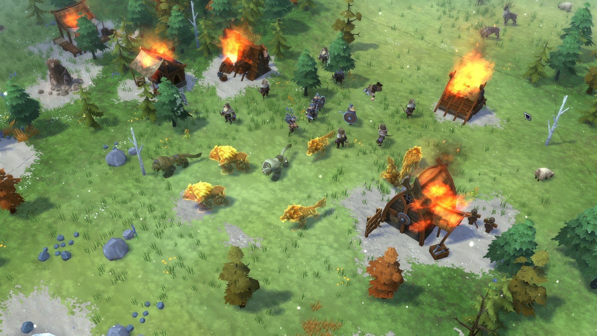 Northgard's newest DLC adds a clan with giant attack lynxes
