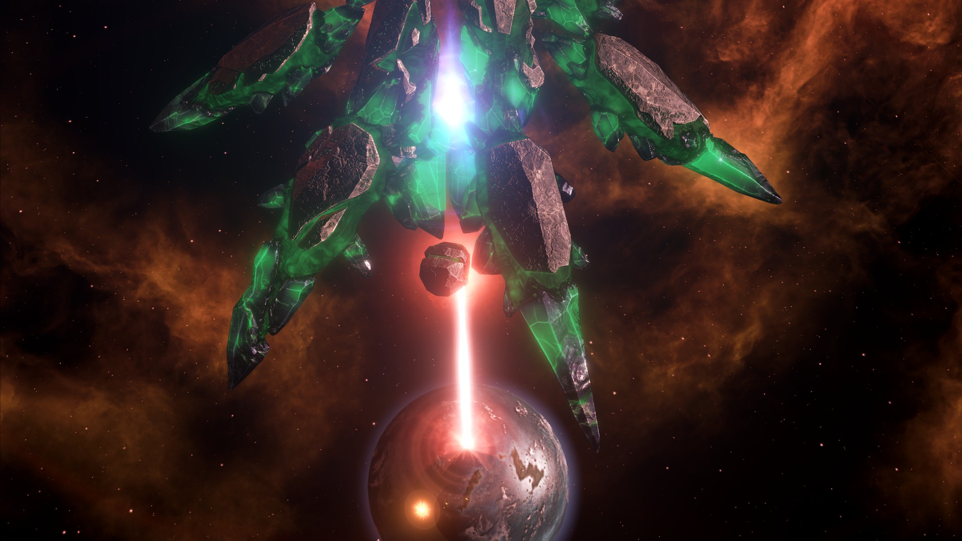 Stellaris will let you engage in the completely legitimate activity of arming insurgents in other empires