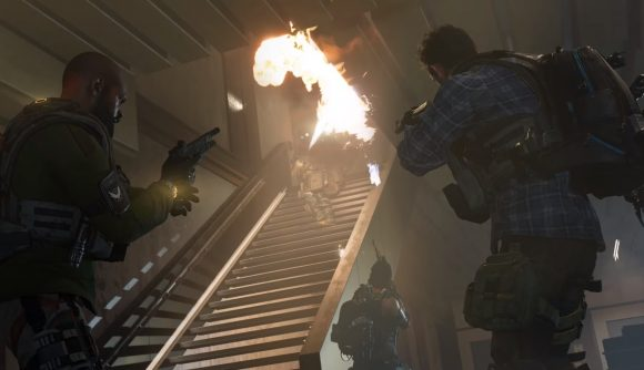 some art work from the Division 2's new Summit PvE mode