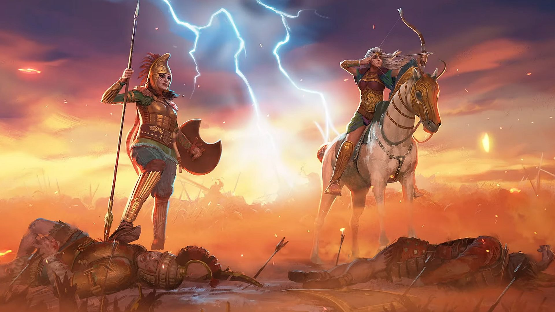 Total War Saga: Troy gets Amazons DLC pack next week, free for a limited time
