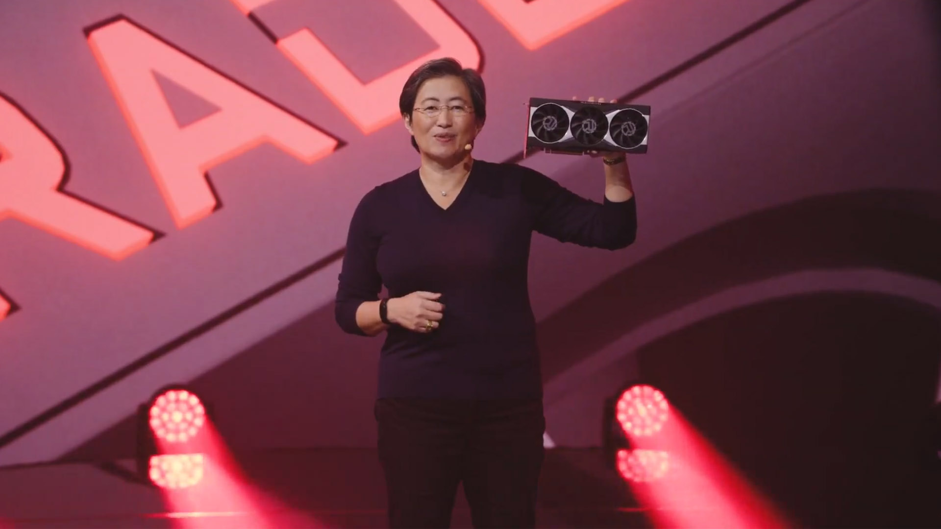 AMD CEO maintains that graphics card availability will improve soon