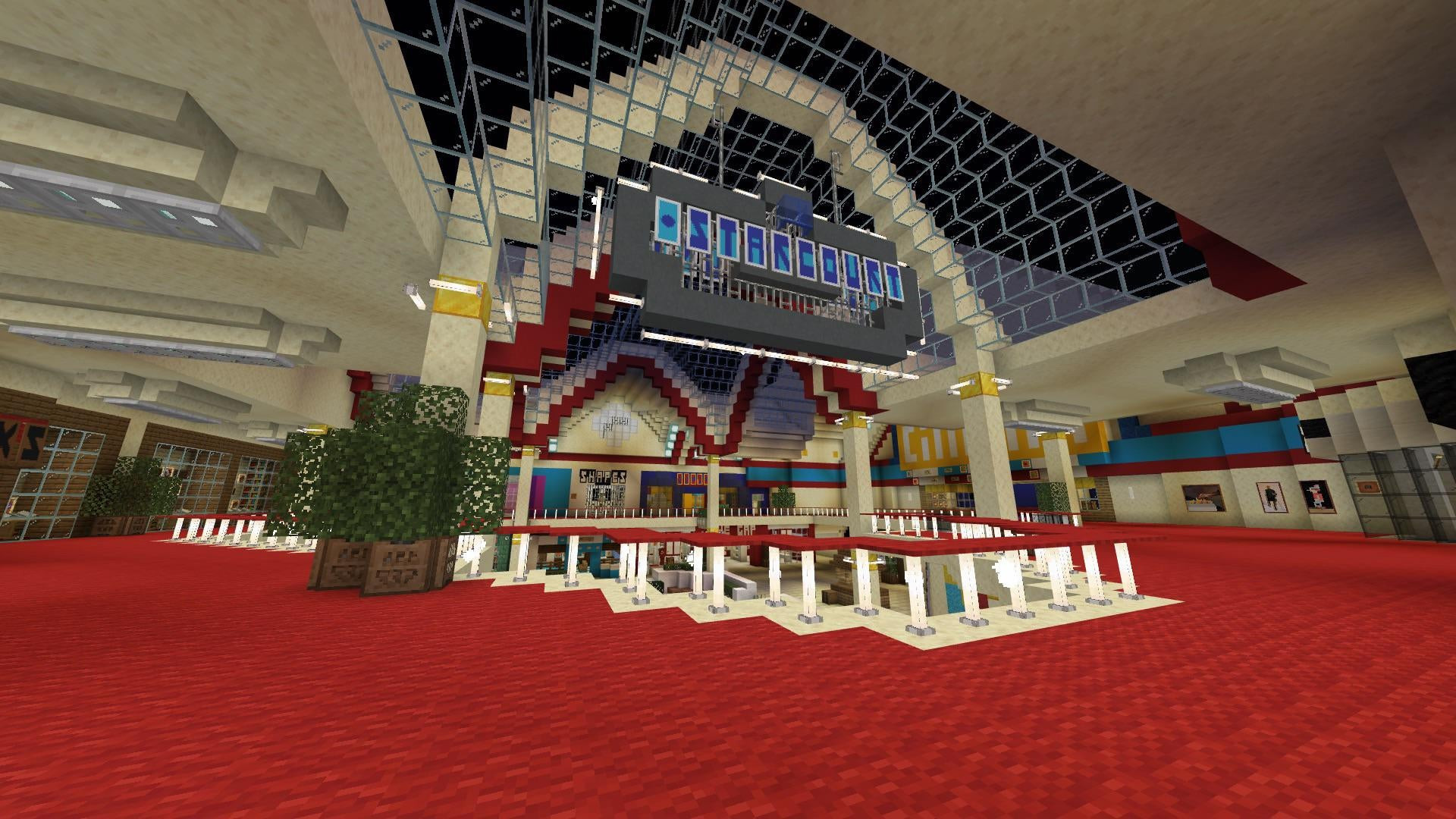 Someone's built the Stranger Things shopping mall in Minecraft