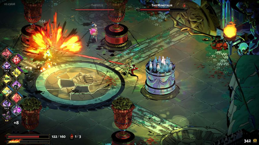 Best roguelike games - Hades throwing his spear