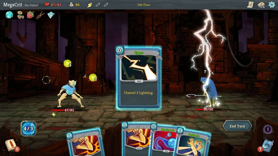 Best roguelike games - Slay the Spire card battle