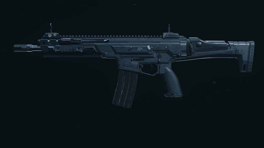 The Kilo 141 assault rifle in Call of Duty Warzone's preview menu