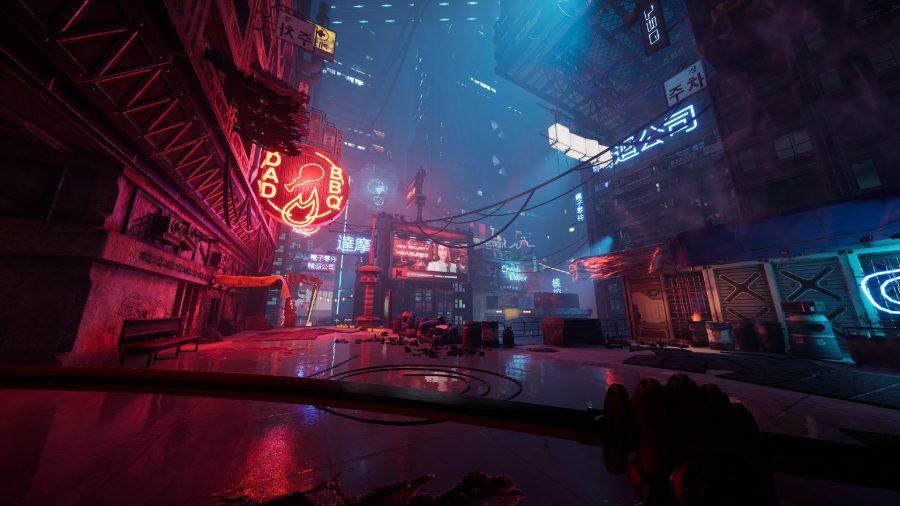 Обзор Ghostrunner Dharma City