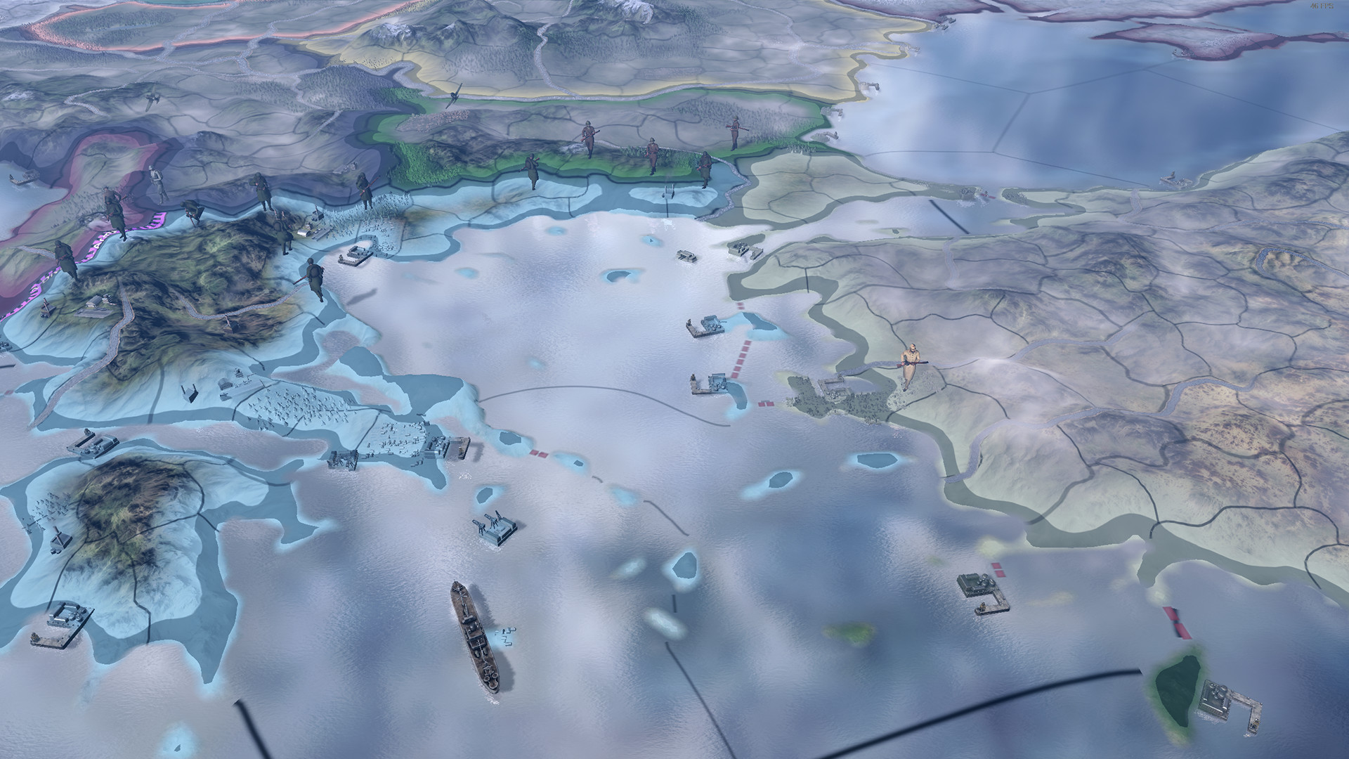 Hearts of Iron 4 celebrates fifth anniversary with new DLC and old dev builds