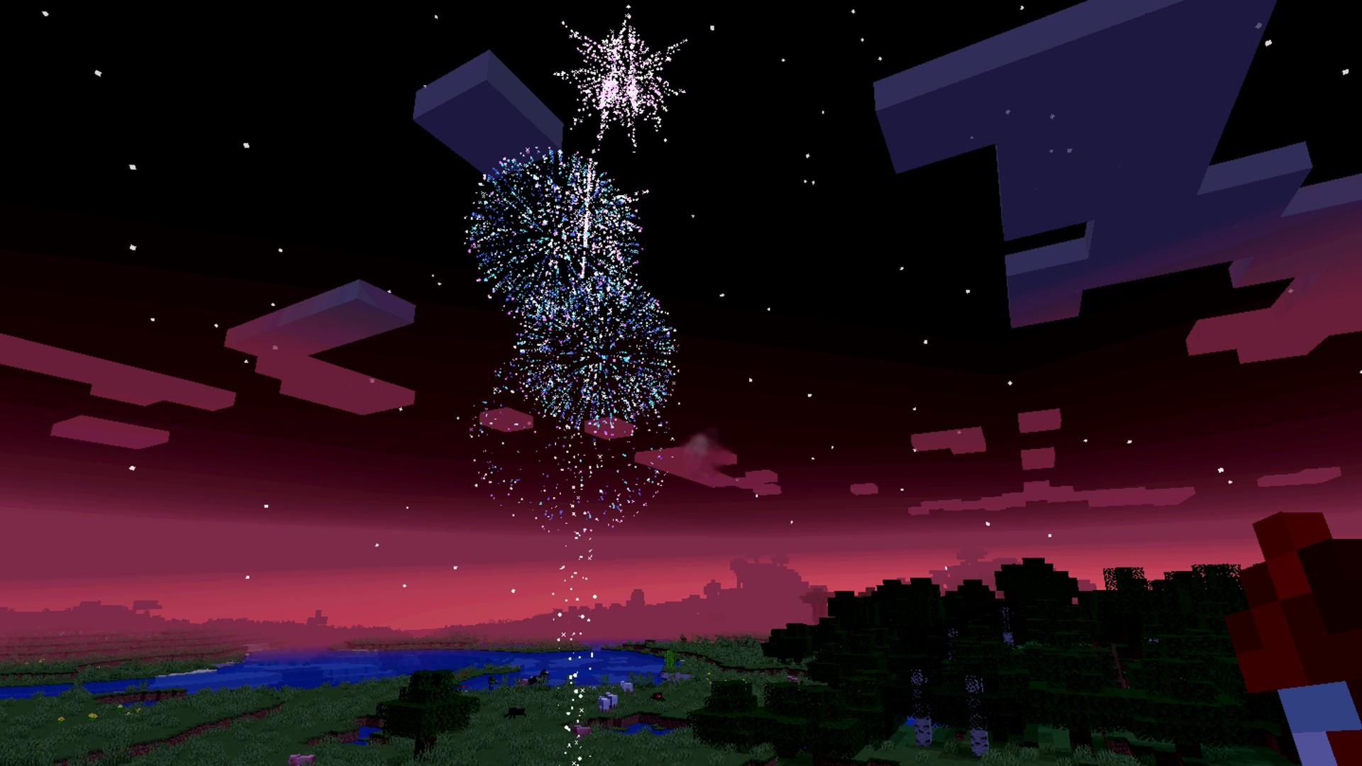 How to make Minecraft fireworks