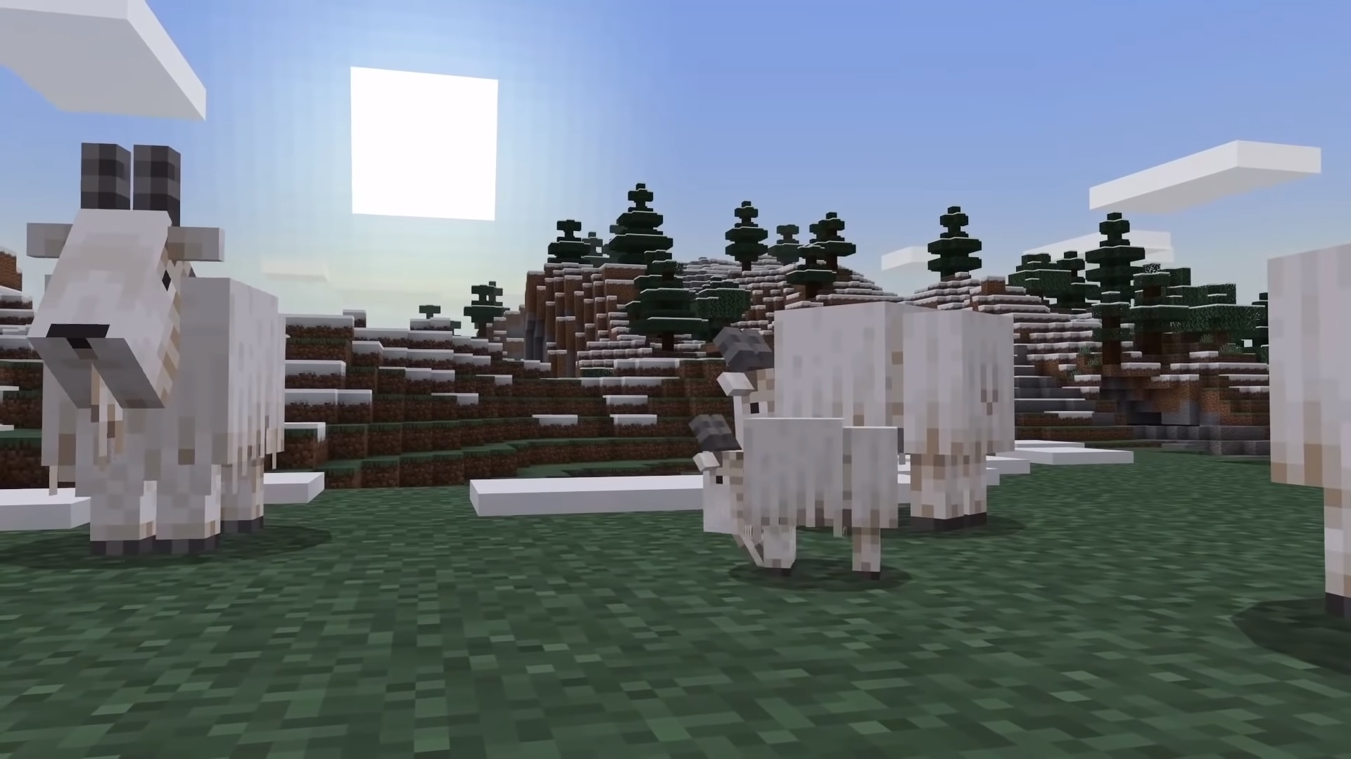 Minecraft goats – everything we know