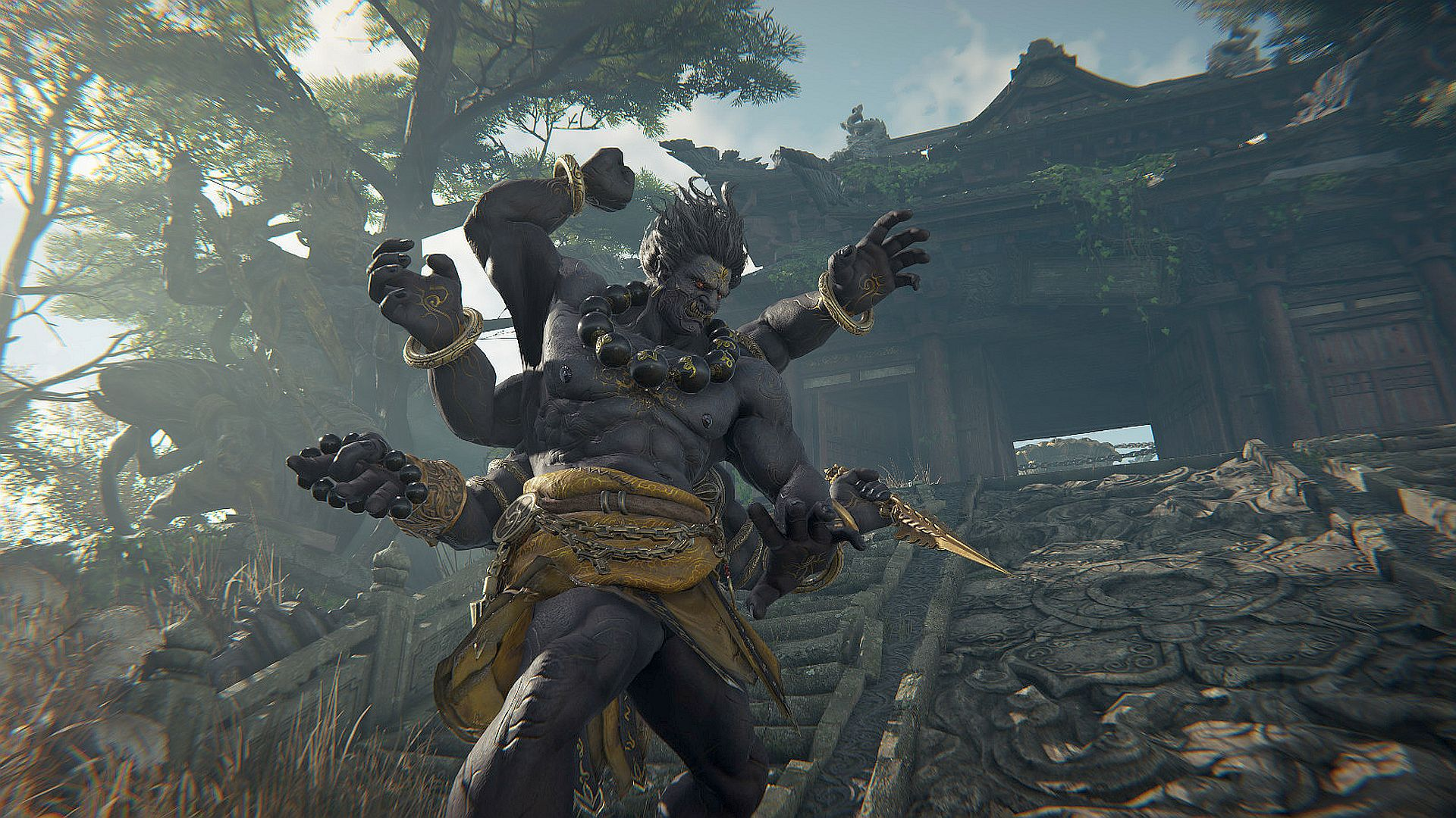 Naraka: Bladepoint has a free demo on Steam, and it's extremely popular
