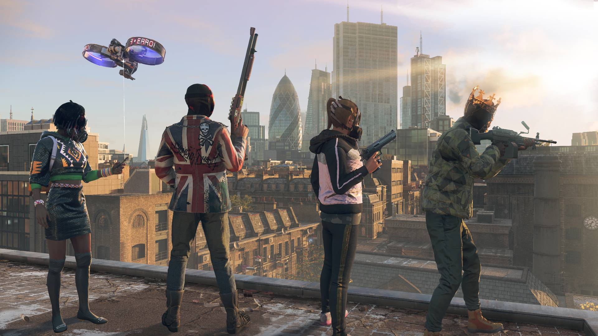 Watch Dogs Legion's online mode has arrived on PC