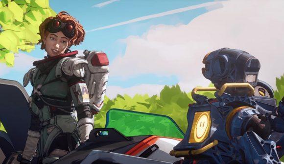 Apex Legends' Pathfinder and Horizon