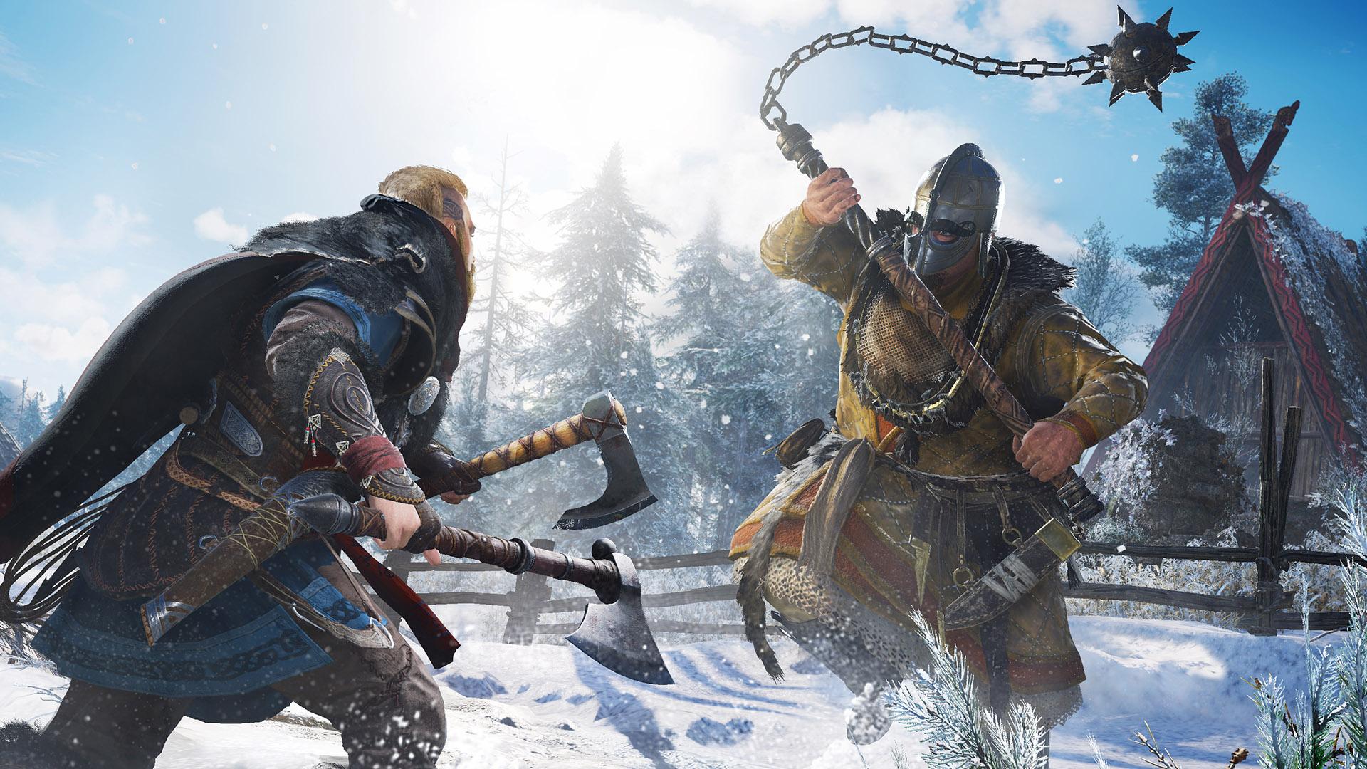 Assassin's Creed Valhalla update adds reward to Death Stranding mission