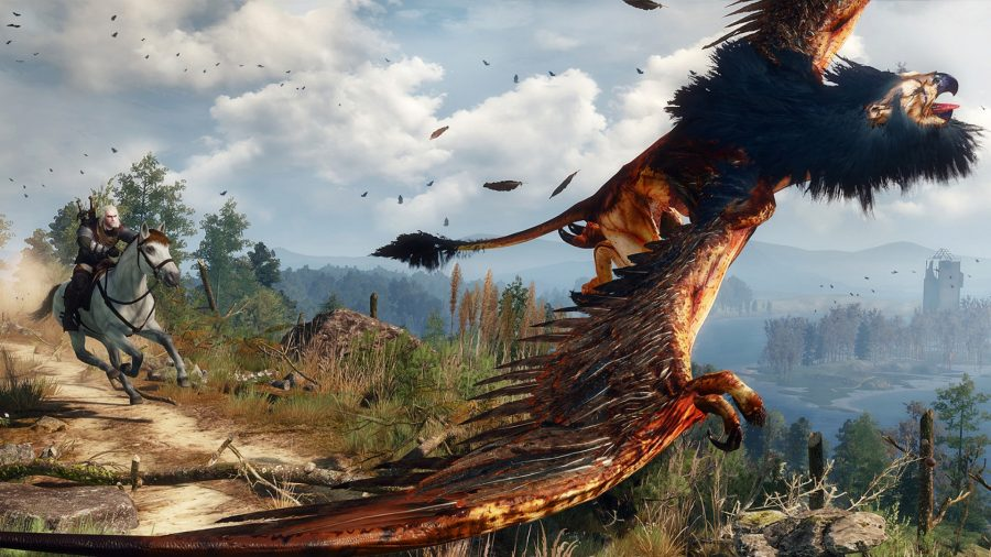 The Witcher 3 Wild Hunt Griffin Hunt