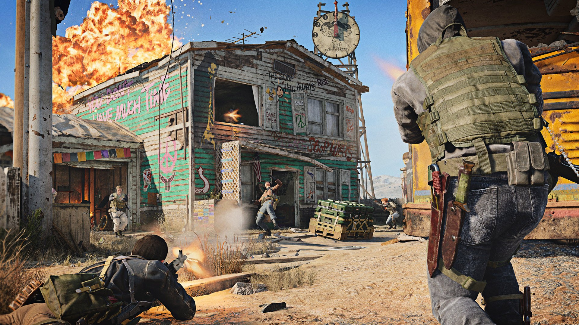 Call of Duty: Cold War Nuketown 24/7 drops today, alongside double XP for a week