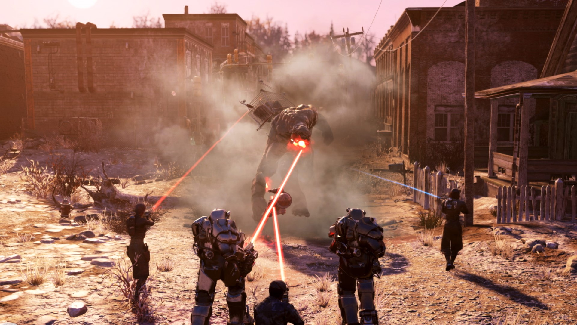 Fallout 76's Steel Reign update is out next month